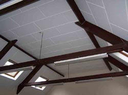 Stow%20Hall%204 Echosorption Plus   Sound Absorbing Ceiling Tiles